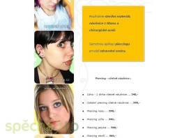 Piercing ucha a pupíku Praha , Kosmetika, Péče o tělo  | spěcháto.cz - bazar, inzerce zdarma