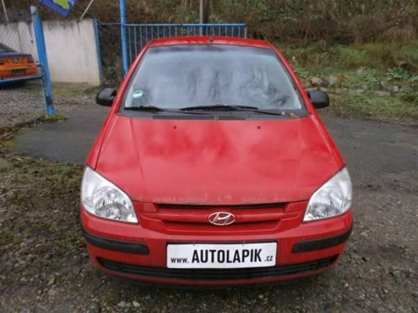 Hyundai Getz 1,1i 46kW, foto 1 Auto – moto , Automobily | spěcháto.cz - bazar, inzerce zdarma