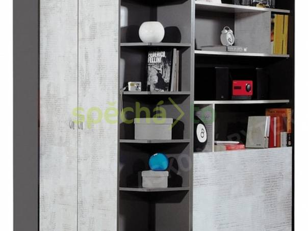 Prodám rohovou šatní skříň TABLO TA1, zakoupenou v Asku. Perfektní stav, PC 11.999,-Kč, nyní jen 4.999,-Kč, foto 1 Pro děti, Dětský nábytek | spěcháto.cz - bazar, inzerce zdarma
