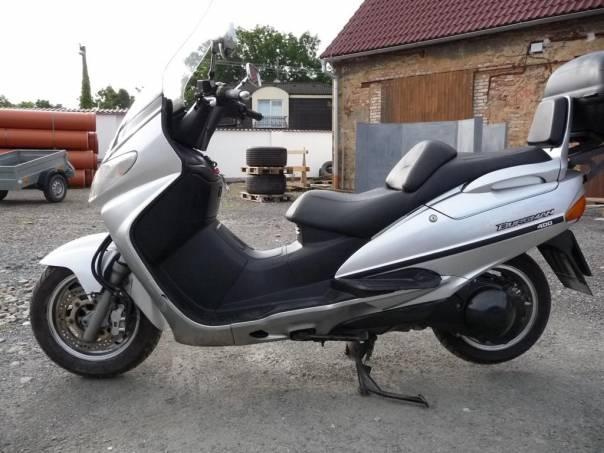 Suzuki Burgman AN400, foto 1 Auto – moto , Motocykly a čtyřkolky   spěcháto.cz - bazar, inzerce zdarma