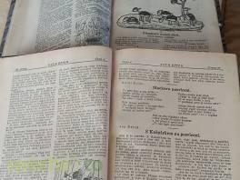 Dva staré svazky časopisů