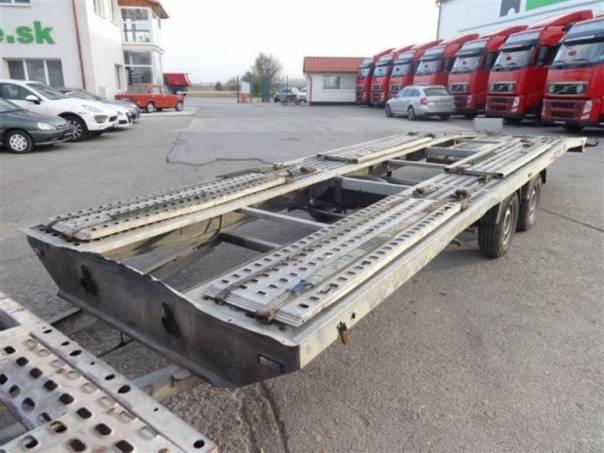 PM príves na prepravu automobilov + RENAULT MIDLUM, foto 1 Užitkové a nákladní vozy, Přívěsy a návěsy | spěcháto.cz - bazar, inzerce zdarma