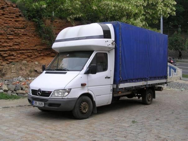 Mercedes-Benz Sprinter 316 Spací kab. 2x topení, foto 1 Užitkové a nákladní vozy, Do 7,5 t | spěcháto.cz - bazar, inzerce zdarma