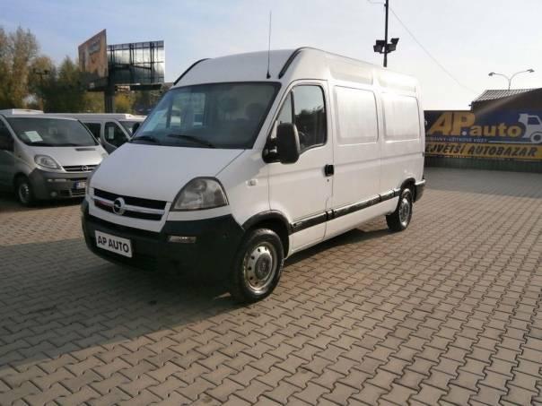 Opel Movano L2H2 KLIMA 2.5DCI, foto 1 Užitkové a nákladní vozy, Do 7,5 t | spěcháto.cz - bazar, inzerce zdarma