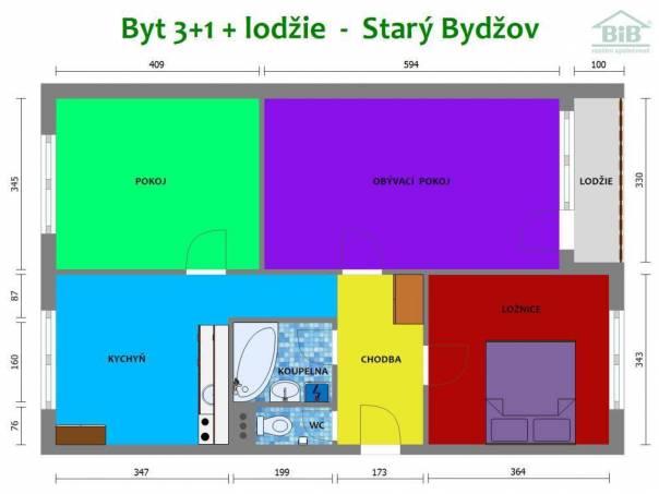 Prodej bytu 3+1, Starý Bydžov, foto 1 Reality, Byty na prodej | spěcháto.cz - bazar, inzerce