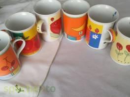 sada šesti nových hrnečků na čaj nebo kávu , Hobby, volný čas, Sběratelství a starožitnosti  | spěcháto.cz - bazar, inzerce zdarma