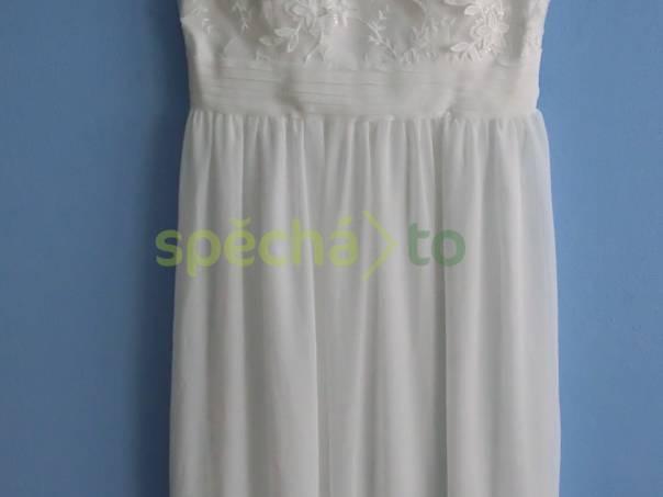 Nádherné krajkové svatební šaty L f06ce98e32