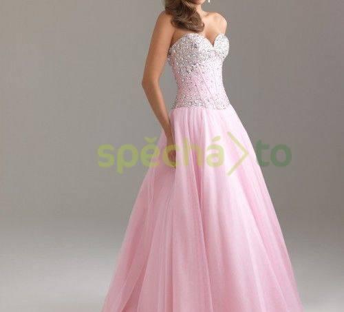 Společenské večerní šaty (maturitní ples)  c11b28712dd