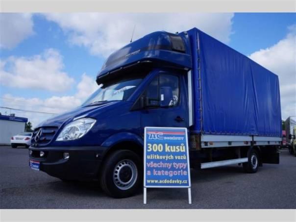 Mercedes-Benz Sprinter 3.0 plachta spaní 4,8m, foto 1 Užitkové a nákladní vozy, Do 7,5 t | spěcháto.cz - bazar, inzerce zdarma