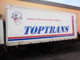 skříňová nástavba pro Atego , Náhradní díly a příslušenství, Užitkové a nákladní vozy  | spěcháto.cz - bazar, inzerce zdarma