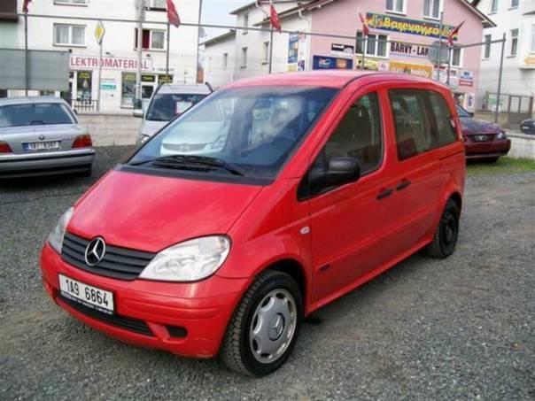 Mercedes-Benz Vaneo 1,7 CDi  KLIMATIZACE, foto 1 Auto – moto , Automobily | spěcháto.cz - bazar, inzerce zdarma