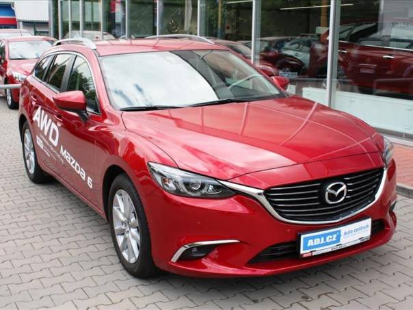 Mazda 6 2.2D 150k WGN A/T ATTRACTION NAVI, foto 1 Auto – moto , Automobily | spěcháto.cz - bazar, inzerce zdarma