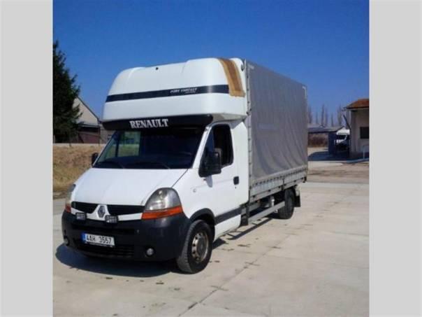 Renault Master UDC1 2.5 DCi valník s plachtou, foto 1 Užitkové a nákladní vozy, Do 7,5 t | spěcháto.cz - bazar, inzerce zdarma