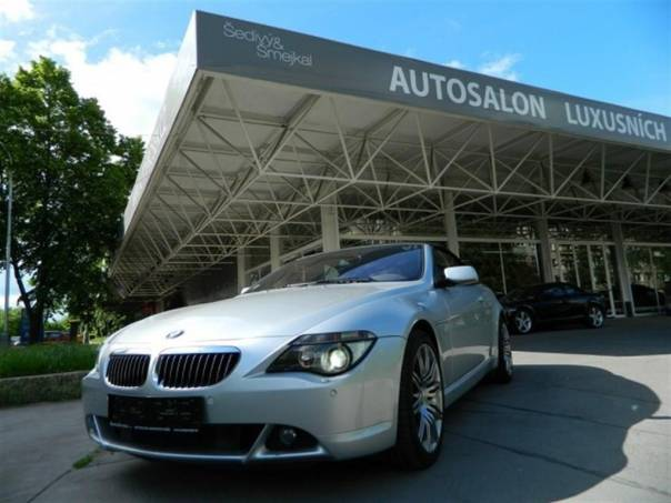 BMW Řada 6 645i Cabrio - VELMI ZACHOVALÉ, foto 1 Auto – moto , Automobily | spěcháto.cz - bazar, inzerce zdarma