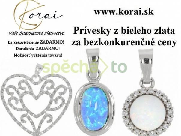 Prívesky z bieleho zlata KORAI, foto 1 Modní doplňky, Šperky a bižuterie | spěcháto.cz - bazar, inzerce zdarma