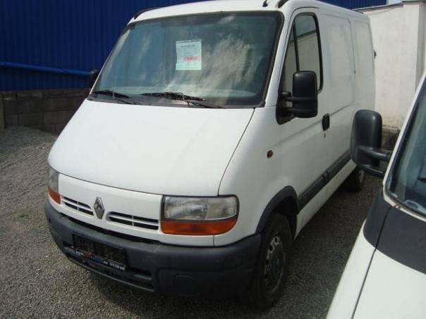 Renault Master 1,9DCI, foto 1 Užitkové a nákladní vozy, Do 7,5 t | spěcháto.cz - bazar, inzerce zdarma