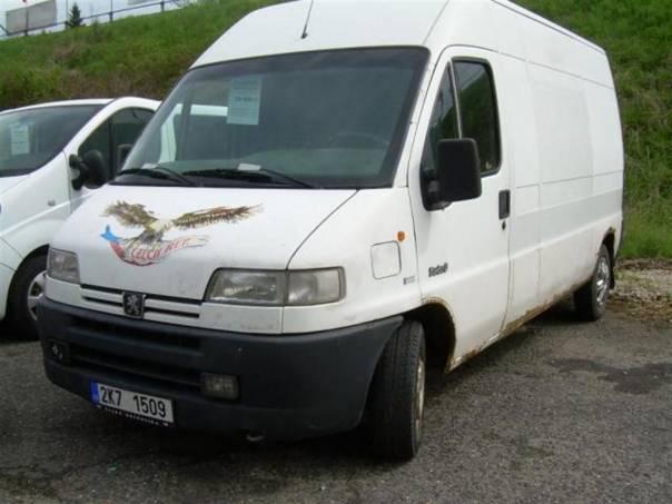 Peugeot Boxer 2.5TD MAXI, foto 1 Užitkové a nákladní vozy, Do 7,5 t | spěcháto.cz - bazar, inzerce zdarma