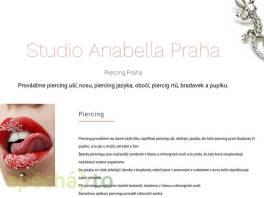 Piercing uší, rtu, obočí a jazyka Anabella Praha , Wellness a péče o zdraví, Kosmetika  | spěcháto.cz - bazar, inzerce zdarma