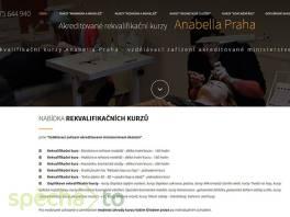 Akreditované rekvalifikační kurzy Anabella Praha , Obchod a služby, Kurzy a školení  | spěcháto.cz - bazar, inzerce zdarma