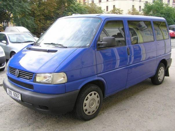 Volkswagen Transporter 2.5TDI 75KW, Klima, 156TKM, foto 1 Užitkové a nákladní vozy, Autobusy | spěcháto.cz - bazar, inzerce zdarma