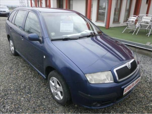 Škoda Fabia 1,9 TDI Elegance klima servis, foto 1 Auto – moto , Automobily | spěcháto.cz - bazar, inzerce zdarma