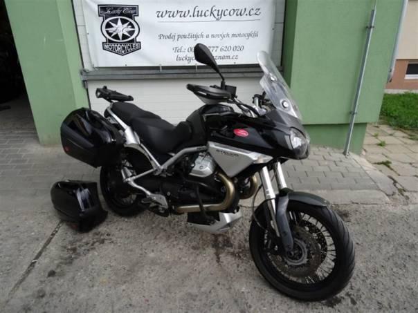 Moto Guzzi Stelvio Stelvio 1200 ABS-PLNÁ-TOP, foto 1 Auto – moto , Motocykly a čtyřkolky | spěcháto.cz - bazar, inzerce zdarma