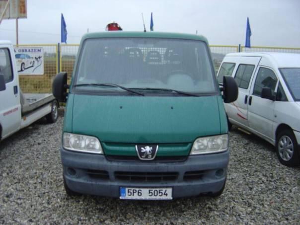 Peugeot Boxer 2.8HDi 7 míst + hydr. rameno, foto 1 Užitkové a nákladní vozy, Do 7,5 t | spěcháto.cz - bazar, inzerce zdarma