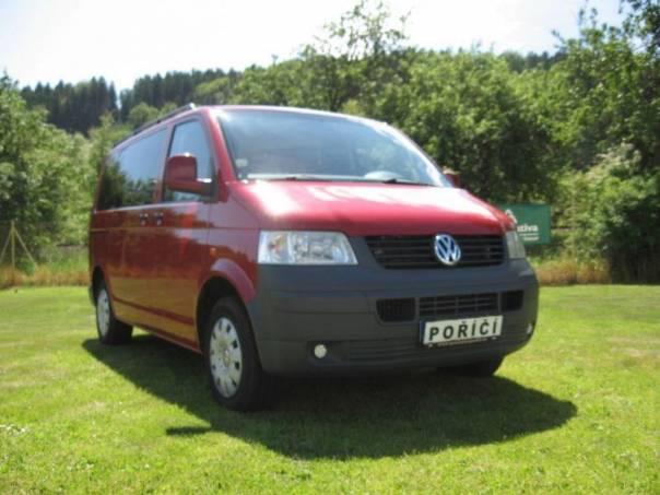 Volkswagen Transporter 2.5 TDi 96 KW 9 míst, foto 1 Užitkové a nákladní vozy, Do 7,5 t | spěcháto.cz - bazar, inzerce zdarma