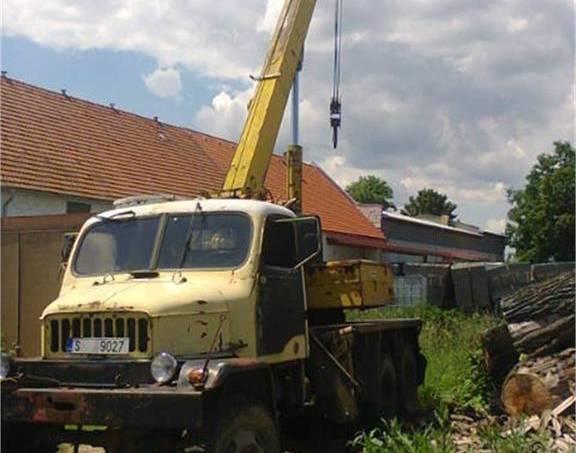 Jeřáb AD80, foto 1 Auto – moto  | spěcháto.cz - bazar, inzerce zdarma