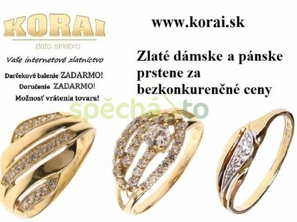 c7d70ab82 Zlaté prstene KORAI, foto 1 Modní doplňky, Šperky a bižuterie | spěcháto.cz