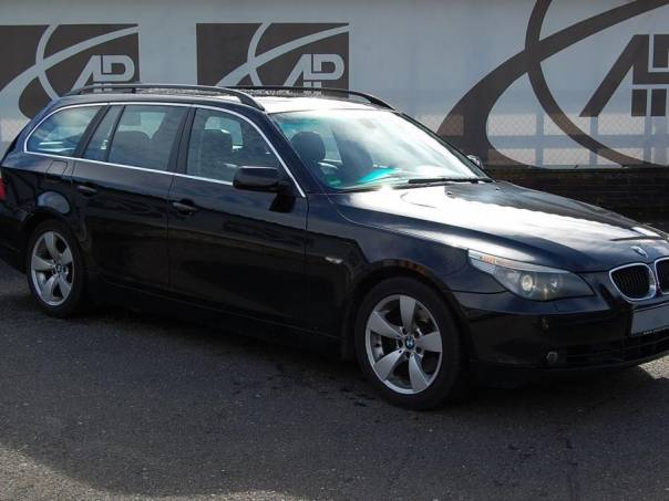 BMW Řada 5 525d Automat, Navi, kůže, foto 1 Auto – moto , Automobily | spěcháto.cz - bazar, inzerce zdarma