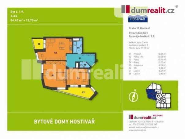 Prodej bytu 3+kk, Praha 15, foto 1 Reality, Byty na prodej | spěcháto.cz - bazar, inzerce