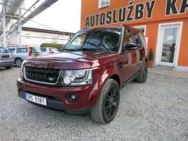 Land Rover Discovery 4 SDV6 HSE, ČR, 7 míst