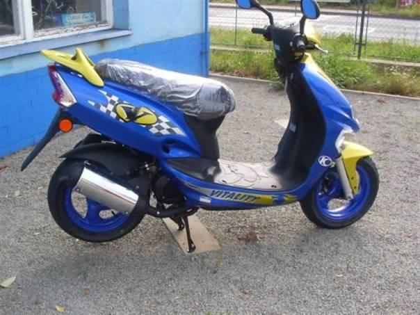 Kymco Vitality , foto 1 Auto – moto , Motocykly a čtyřkolky | spěcháto.cz - bazar, inzerce zdarma