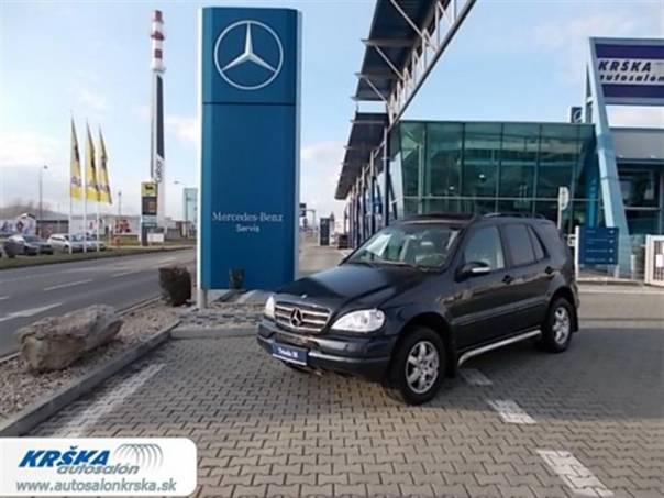 Mercedes-Benz Třída M 2.7CDi ML 270CDi 4-matic, foto 1 Auto – moto , Automobily | spěcháto.cz - bazar, inzerce zdarma