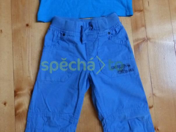 Dětský modrý set tričko + kalhoty, foto 1 Pro děti, Dětské oblečení  | spěcháto.cz - bazar, inzerce zdarma