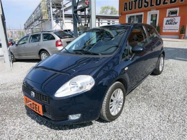 Fiat Grande Punto 1.3 JTD Multijet,digiklima, foto 1 Auto – moto , Automobily | spěcháto.cz - bazar, inzerce zdarma