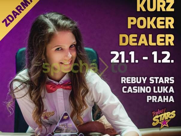 Dealer pokeru - kurz ZDARMA, foto 1 Nabídka práce, Brigády | spěcháto.cz - bazar, inzerce zdarma