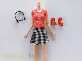 NOVÉ! Set pro Barbie, tričko + sukně + boty + sluchátka  , Pro děti, Hračky  | spěcháto.cz - bazar, inzerce zdarma