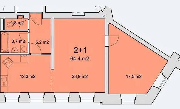Prodej bytu 2+1, Pelhřimov, foto 1 Reality, Byty na prodej | spěcháto.cz - bazar, inzerce