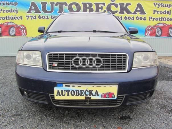Audi A6 4,2i, foto 1 Auto – moto , Automobily | spěcháto.cz - bazar, inzerce zdarma