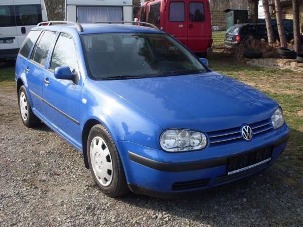 Volkswagen Golf 1.4i kombi, klimatizace, foto 1 Auto – moto , Automobily | spěcháto.cz - bazar, inzerce zdarma