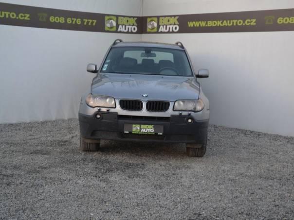 BMW X3 3.0D,150kW,Aut.,Kůže,Serv.kn., foto 1 Auto – moto , Automobily | spěcháto.cz - bazar, inzerce zdarma
