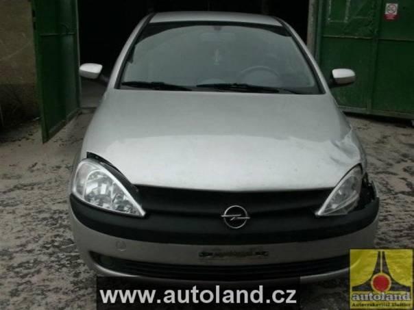 Opel Corsa 1,4, foto 1 Náhradní díly a příslušenství, Ostatní | spěcháto.cz - bazar, inzerce zdarma
