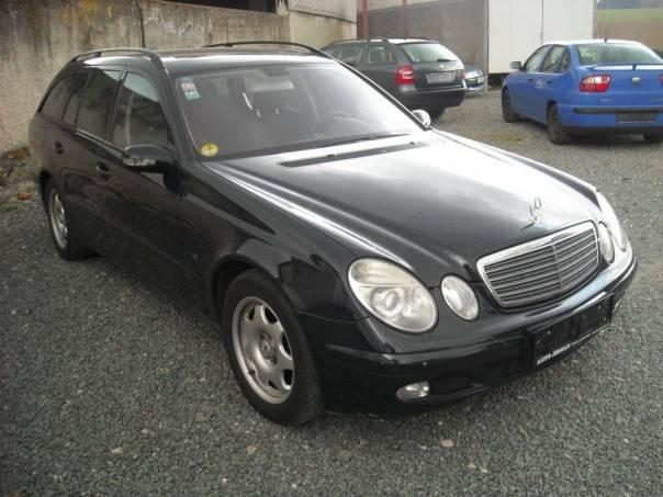 Mercedes-Benz Třída E E 220 T CDi kombi, foto 1 Auto – moto , Automobily | spěcháto.cz - bazar, inzerce zdarma