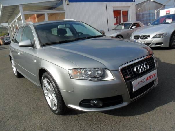 Audi A4 AVANT 2,0 TDI QUATTRO, S-LINE, foto 1 Auto – moto , Automobily | spěcháto.cz - bazar, inzerce zdarma