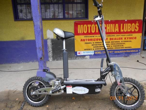 Bemi  ELEKTRICKÁ MOTOROVÁ KOLOBĚŽKA AERO VISION 1000W, foto 1 Auto – moto , Motocykly a čtyřkolky | spěcháto.cz - bazar, inzerce zdarma