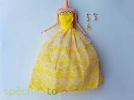 NOVÉ! Set pro panenku Barbie, šaty+ náušnice + parfém , Pro děti, Hračky  | spěcháto.cz - bazar, inzerce zdarma