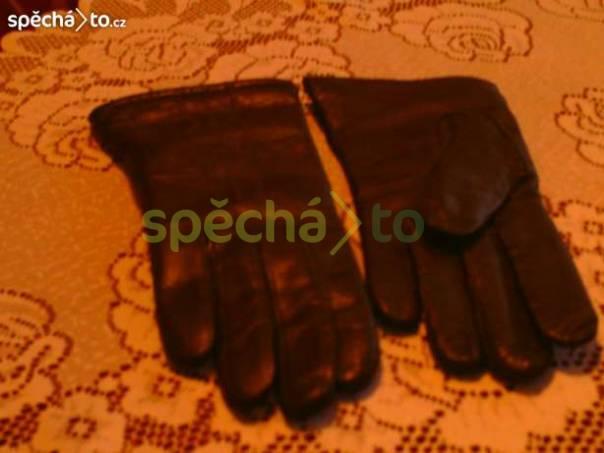 Kožené rukavice, foto 1 Móda a zdraví, Modní doplňky | spěcháto.cz - bazar, inzerce zdarma