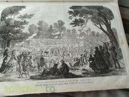 Staré svazané Květy-obrázkový časopis z roku 1867 , Hobby, volný čas, Sběratelství a starožitnosti  | spěcháto.cz - bazar, inzerce zdarma